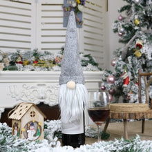 Load image into Gallery viewer, Christmas Faceless Doll Wine Bottle Cover