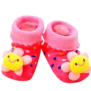 Cartoon Design Anti-Slip Baby Walker Socks