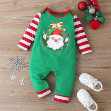Load image into Gallery viewer, Christmas Santa Claus Baby Romper