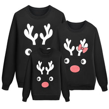 Load image into Gallery viewer, Christmas Elk Print Family Matching Sweater