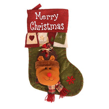 Load image into Gallery viewer, Kids Santa Claus Gift Stockings