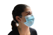 Load image into Gallery viewer, FDA Approved 3Ply Disposable Face Masks  - 50 Count Box - 69 Cents Per Mask