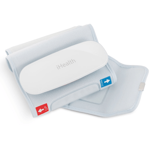 Misuratore di Pressione Smart iHealth BP5 da braccio, Compatibile con iPad, Monitoraggio Cardiovascolare Bluetooth Wireless Professionale - Dolomiti Medical