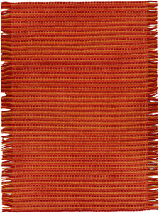 Chandra Adaline ADA-33001 Red/Orange Hand-woven Wool - HomeAreaRugs.com