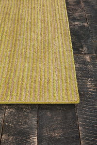 Chandra Alyssa ALY-33303 Olive Green/Natural Hand-Woven Cotton/Jute - HomeAreaRugs.com