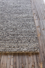Load image into Gallery viewer, Chandra ANNI ANN-11402 Grey/White Hand Tufted Wool - HomeAreaRugs.com