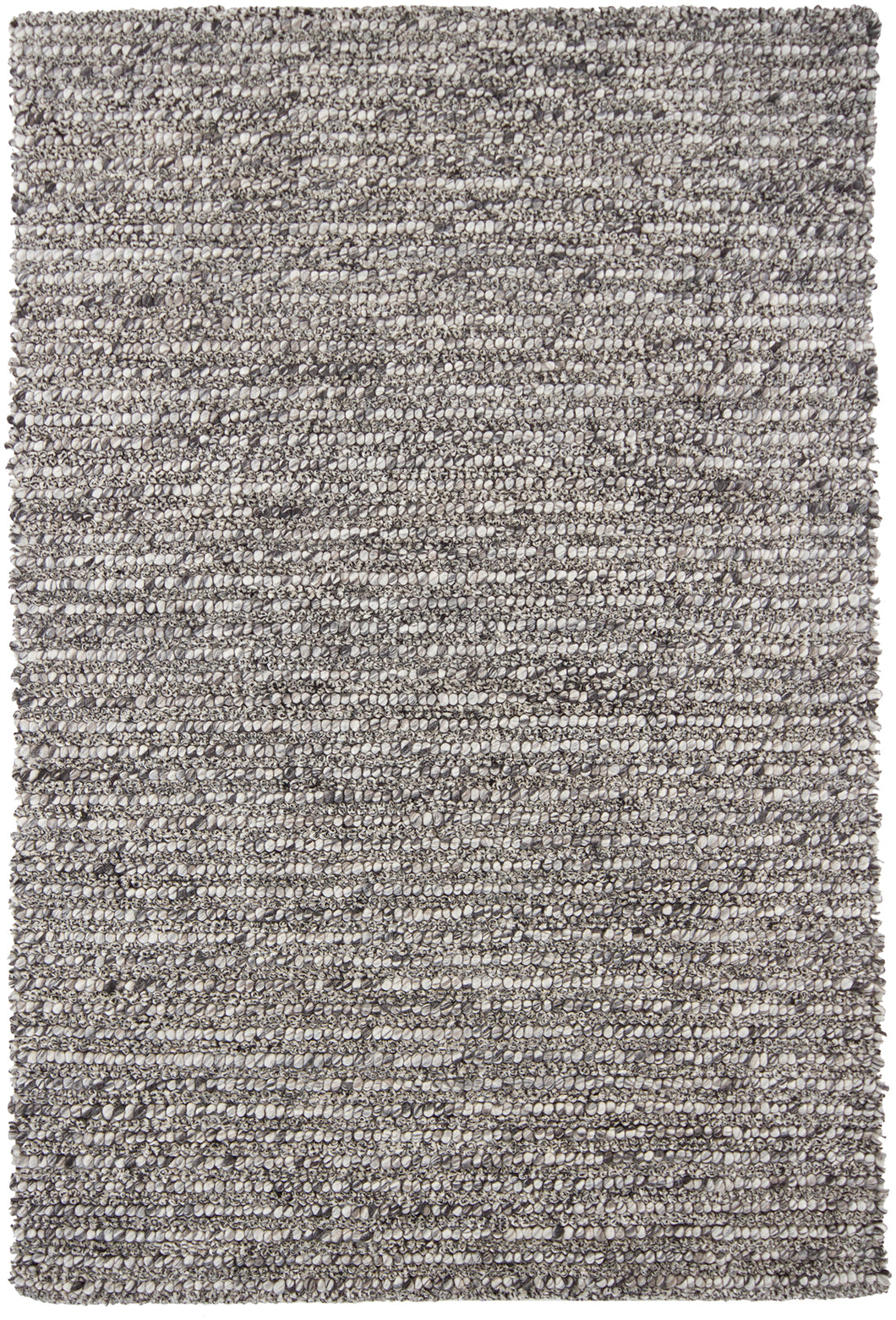 Chandra ANNI ANN-11402 Grey/White Hand Tufted Wool - HomeAreaRugs.com