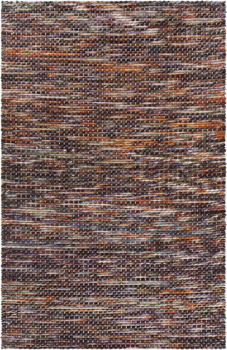 Chandra ARGOS ARG-51504 Grey/Orange Hand Woven Wool - HomeAreaRugs.com