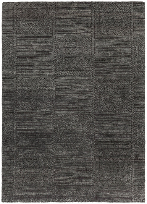 Chandra Rugs ASHTON Grey Hand Knotted Wool - HomeAreaRugs.com