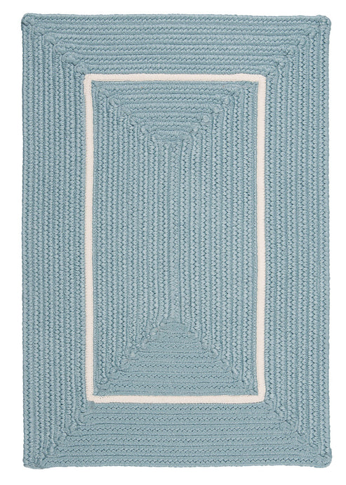 Colonial Mills Doodle Edge Light Blue - HomeAreaRugs.com