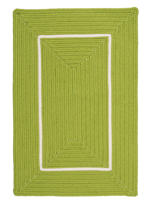 Colonial Mills Doodle Edge Bright Green - HomeAreaRugs.com