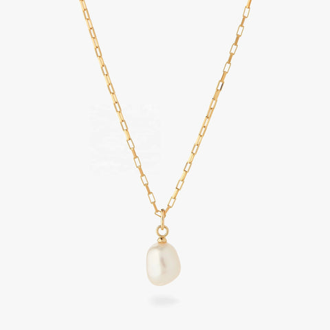 Baroque Pearl Chain Necklace, Kategory Jewelry