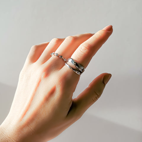 River Ring & Glitter Ring, Kategory Jewelry