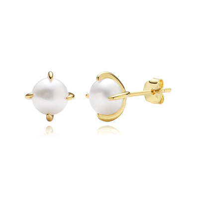 Pearl Stud Earrings - Kategory Jewelry