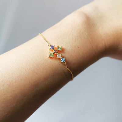 Vivid Cross Bracelet - Kategory Jewelry