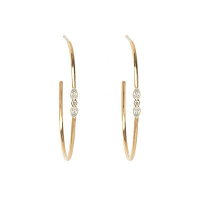 Dainty Hoop Earrings - Kategory Jewelry