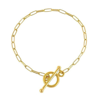 Chain Toggle Bar Bracelet - Kategory Jewelry
