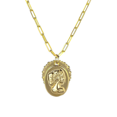 Queen Pendant Necklace - Kategory Jewelry