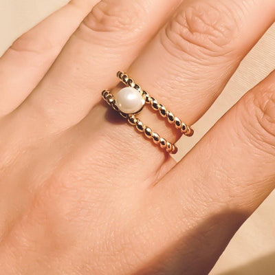 Hope Pearl Ring - Kategory Jewelry