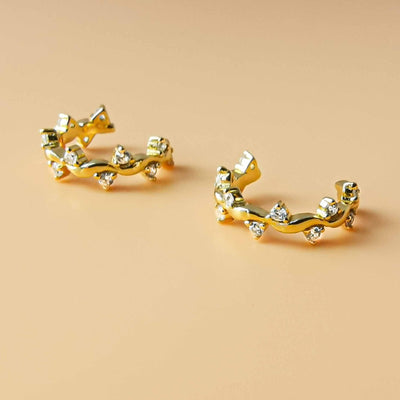 Vine Ear Cuffs (Two Pieces) - Kategory Jewelry