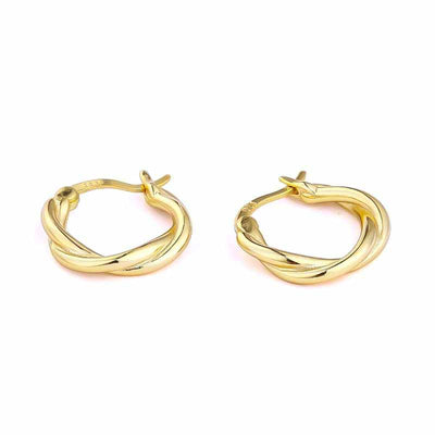 Yoga Hoop Earrings - Kategory Jewelry