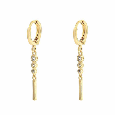 Nomi Chain Drop Earrings - Kategory Jewelry