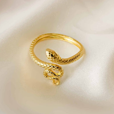 Snake Open Ring - Kategory Jewelry