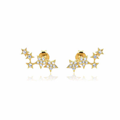 Stars Stud Earrings - Kategory Jewelry