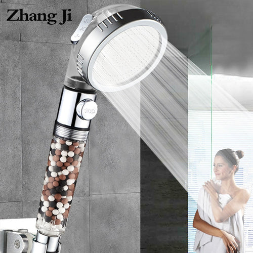 Shower Head with Water Filter Balls and Adjustable Pressure - sonb9