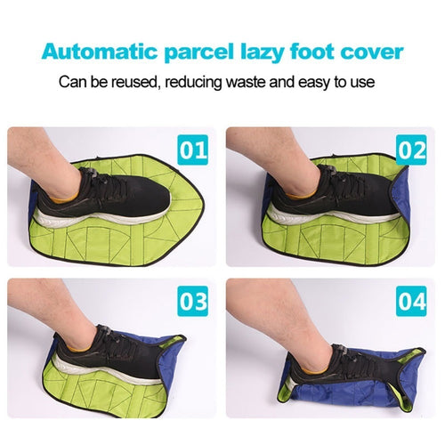 Snap on Reusable Shoe Covers - sonb9