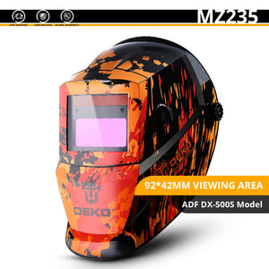 Welding Mask Helmet with Auto Darkening and Adjustable Range - sonb9