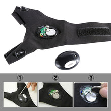 Load image into Gallery viewer, Waterproof Gloves with Led Light for Fishing, Cycling, and DIY - sonb9