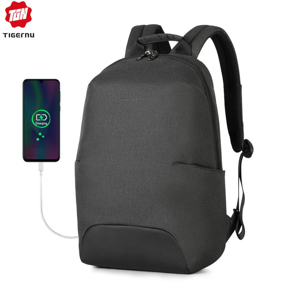 2020 New Design Fashion Anti theft RFID 15.6 inch Laptop Men Backpack Large Capacity Light Weight Travel School Backpack Mochila