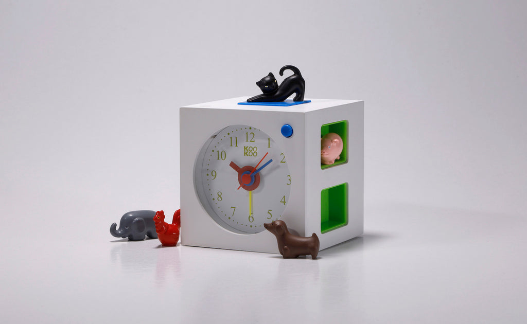 KOOKOO KidsAlarm, including 5 magnetic animals (field recordings)