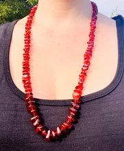 Load image into Gallery viewer, Amber bead necklace