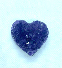 Load image into Gallery viewer, Amethyst crystal heart