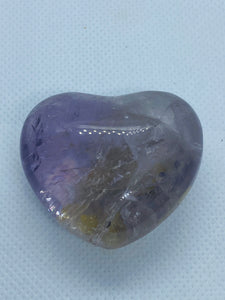 Amethyst love heart