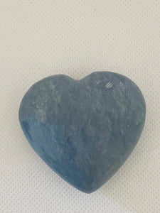 Angelite love heart