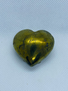 Pyrite love heart