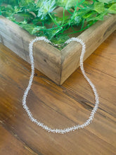 Load image into Gallery viewer, Clear Quartz bead necklace