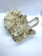 Load image into Gallery viewer, Clear quartz crystal cluster
