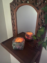 Load image into Gallery viewer, Fluorite Candle Holder