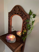 Load image into Gallery viewer, Fluorite tea light Candle Holder 19