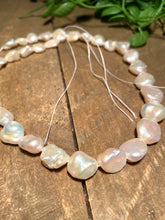 Load image into Gallery viewer, String of Fresh water Pearl beads - jewellery, necklace