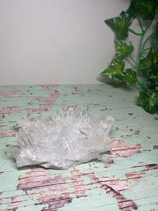 High quality Clear Quartz Crystal Cluster - home décor and table display
