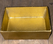 Load image into Gallery viewer, Gold trinket box with Copper handle