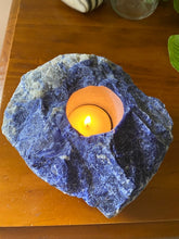 Load image into Gallery viewer, Sodalite Candle Holder
