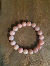 Load image into Gallery viewer, Pink Opal bead bracelet
