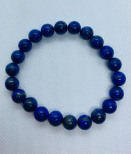 Load image into Gallery viewer, Lapis Lazuli bead bracelet