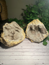 Load image into Gallery viewer, Large Clear Quartz crystal geode - home décor and table display AGMD0008